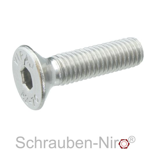 SC7380-1 Vollgewinde 20 St/ück Linsenkopfschrauben mit Innensechskant - ISO 7380-1 rostfreier Edelstahl A2 V2A ISK - M6x100 - Flachkopfschrauben