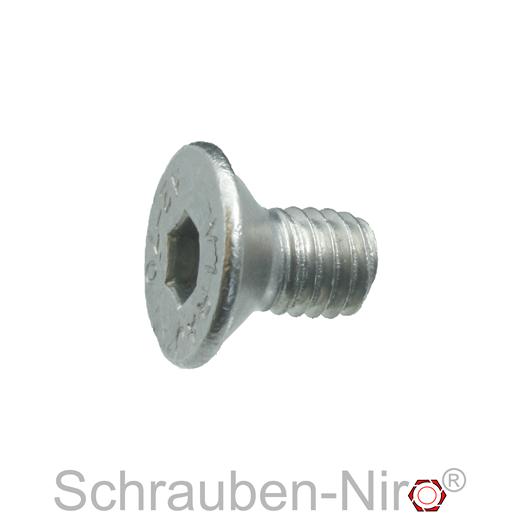 ISK | Senkschrauben rostfrei DERING Senkkopfschrauben M4x20//20 mit Innensechskant DIN 7991 Edelstahl A2 30 St/ück
