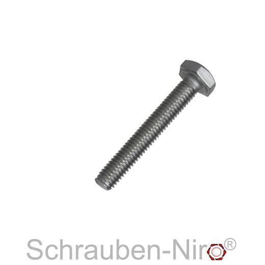10 Sechskantschrauben DIN 933 Edelstahl A2 M 8x100